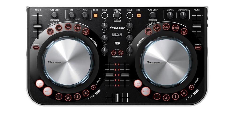 DJ-контроллеры Pioneer DDJ-WeGO Red