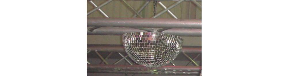 Зеркальные шары Ds-light полусфера 22 cm