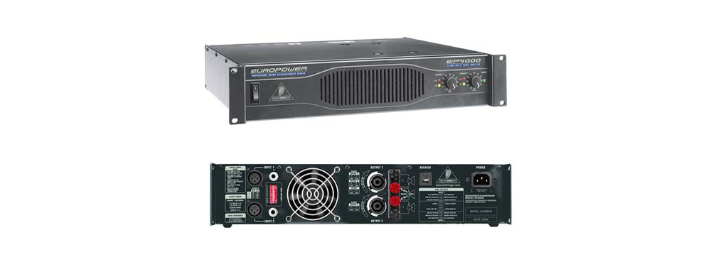Усилители мощности Behringer EP4000