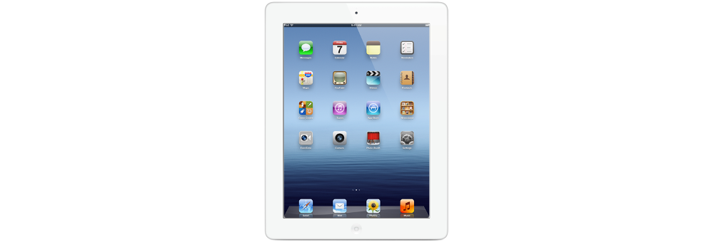 iPad Apple New iPad Wi-Fi 16GB White