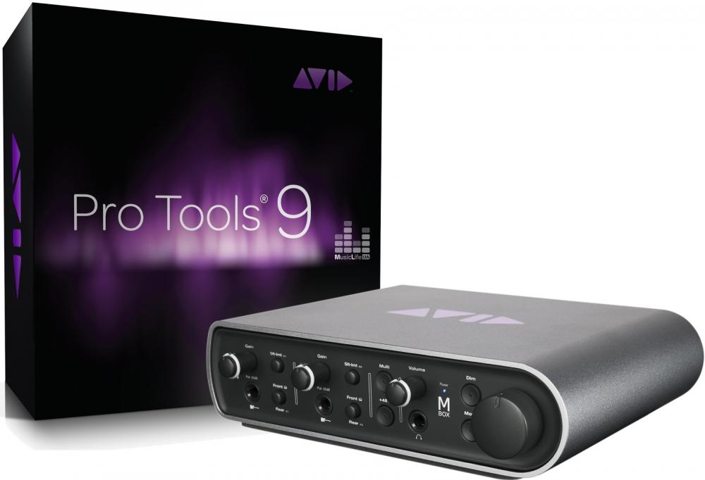Звуковые карты Avid MBOX 3 WITH PRO TOOLS 9