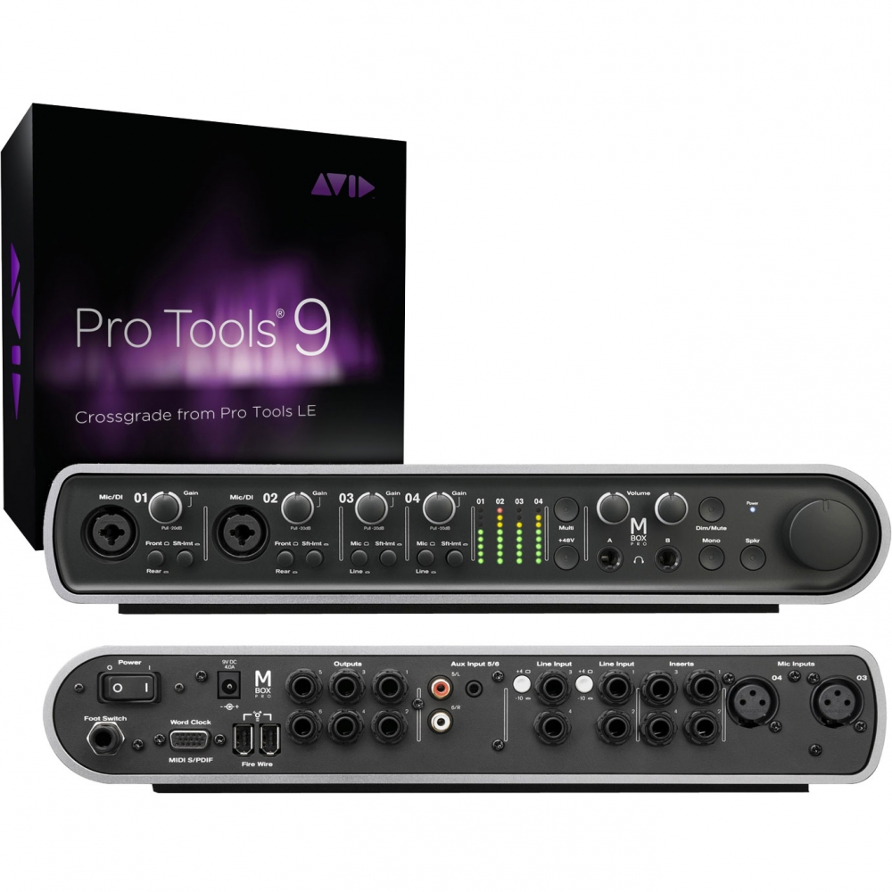 Звуковые карты Avid Mbox with Pro Tools 9