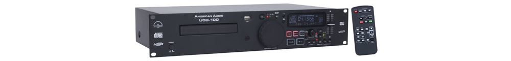 CD/USB-проигрыватели American Audio UCD100