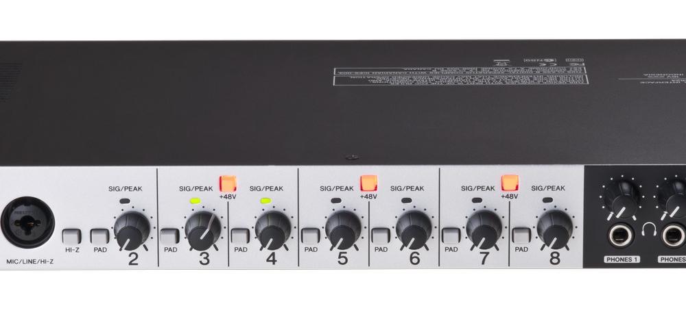Звуковые карты Steinberg UR 824
