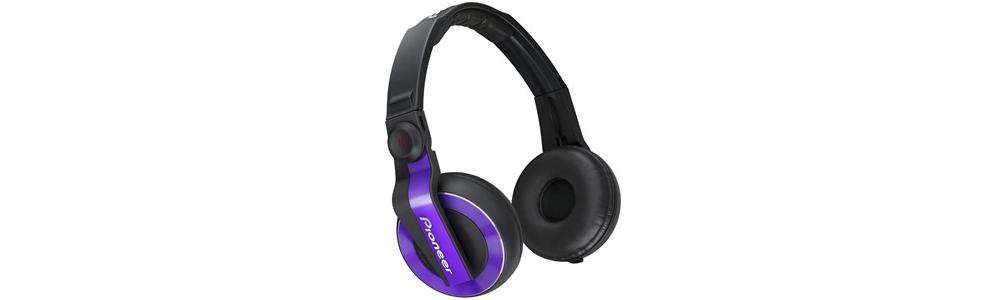 DJ-наушники Pioneer HDJ-500 Violet