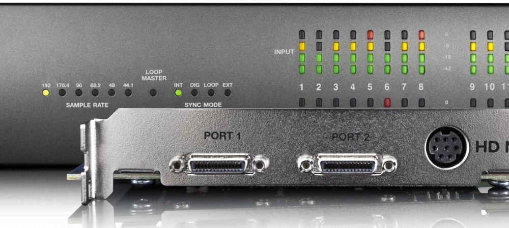 Процессоры эффектов Avid Pro Tools|HD Native + HD I/O 16x16 Analog Bundle
