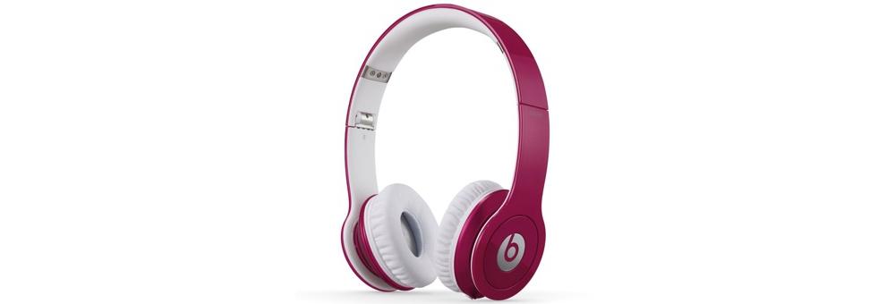 Наушники для плеера Beats by Dr. Dre Solo HD Pink ControlTalk