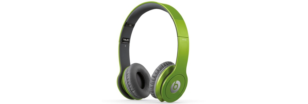 Наушники для плеера Beats by Dr. Dre Solo HD Green ControlTalk