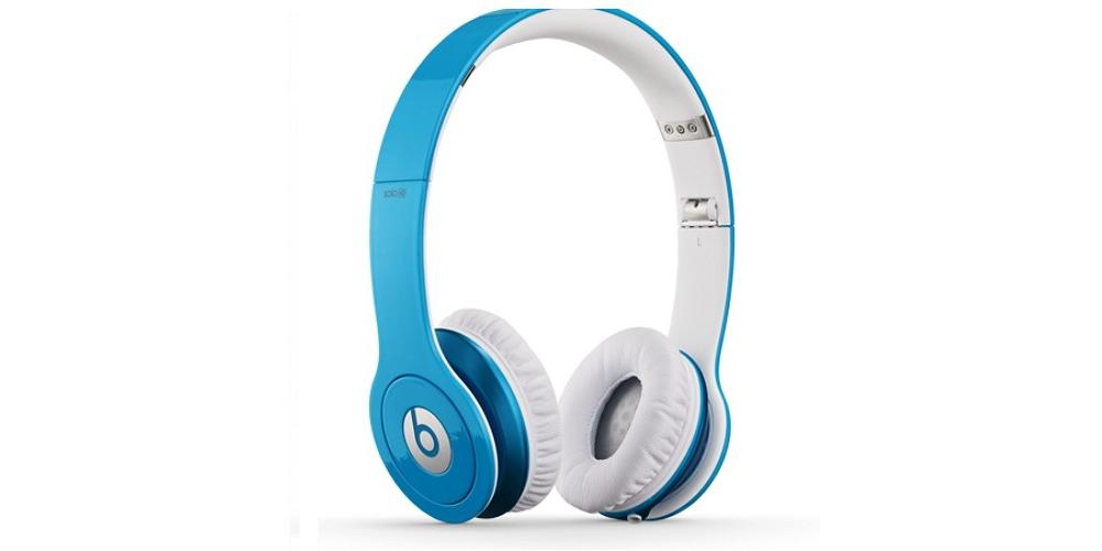 Наушники для плеера Beats by Dr. Dre Solo HD Light Blue ControlTalk