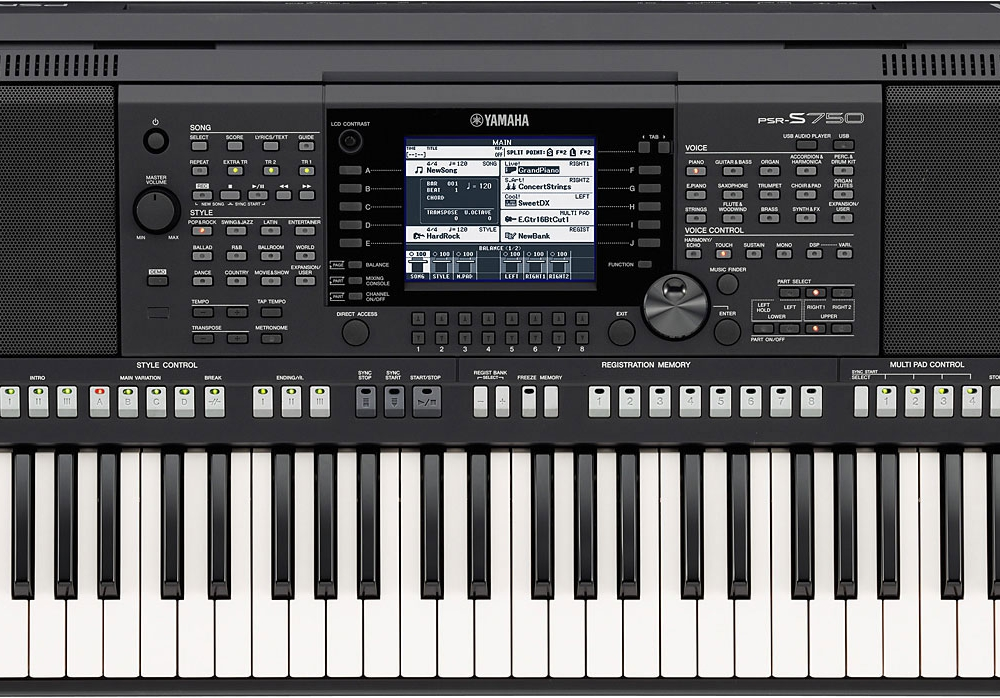 Синтезаторы и рабочие станции Yamaha PSR-S750