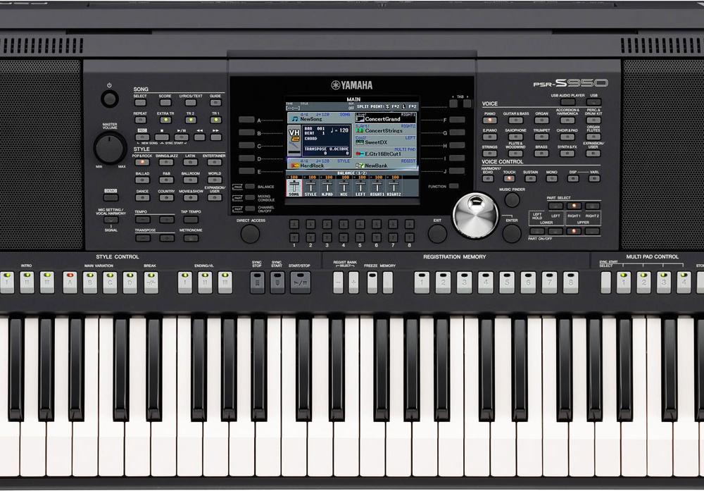 Синтезаторы и рабочие станции Yamaha PSR-S950