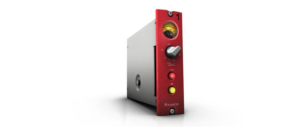 Предусилители Focusrite Red 1 500 Series