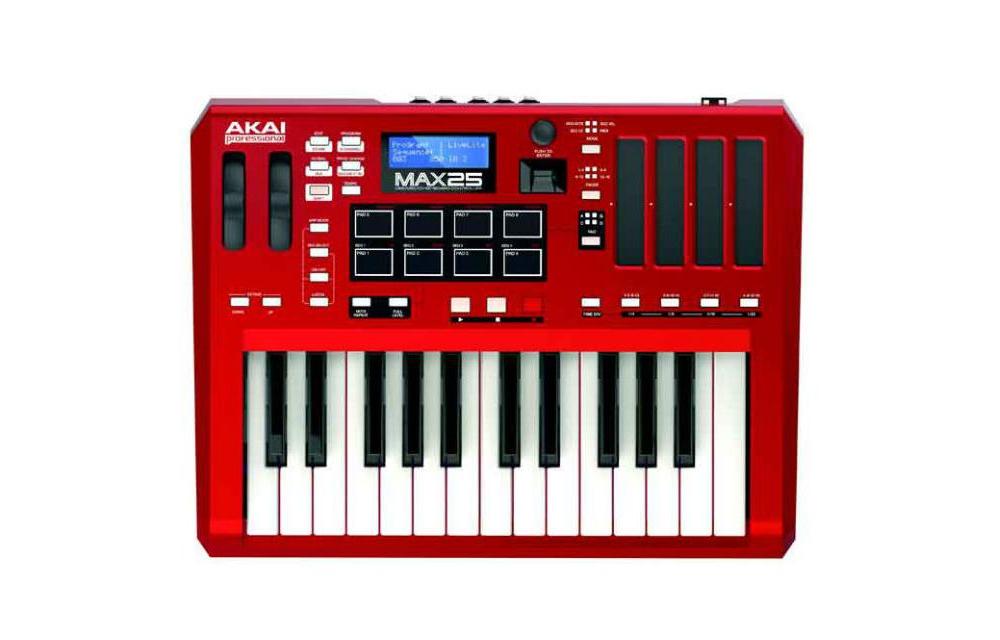 Midi-клавиатуры Akai MAX25