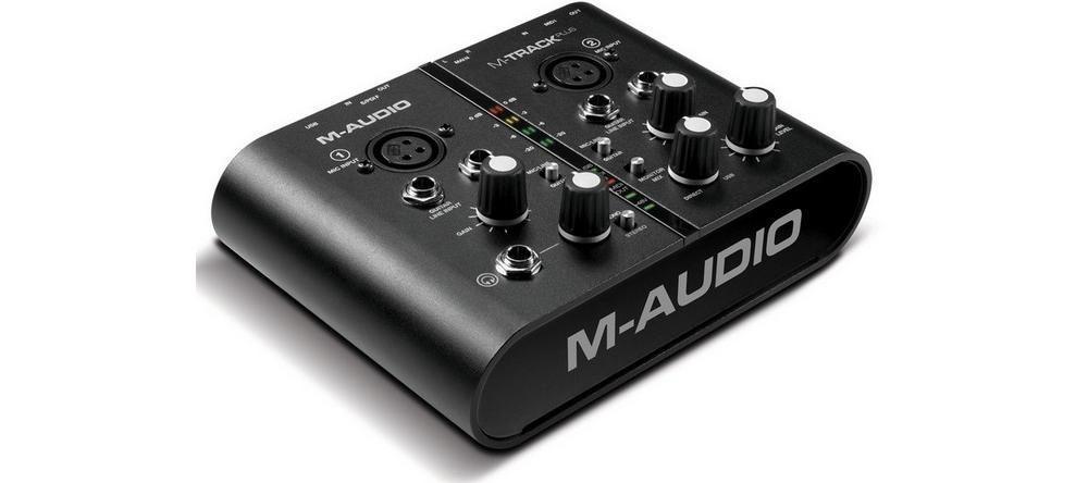 Звуковые карты M-Audio M-TRACK PLUS
