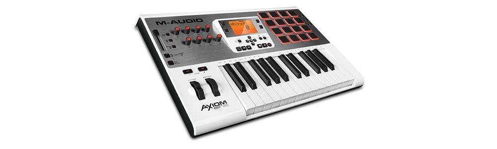 Midi-клавиатуры M-Audio AXIOM AIR 25 WH