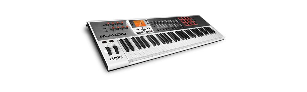 Midi-клавиатуры M-Audio Axiom AIR 61 WH