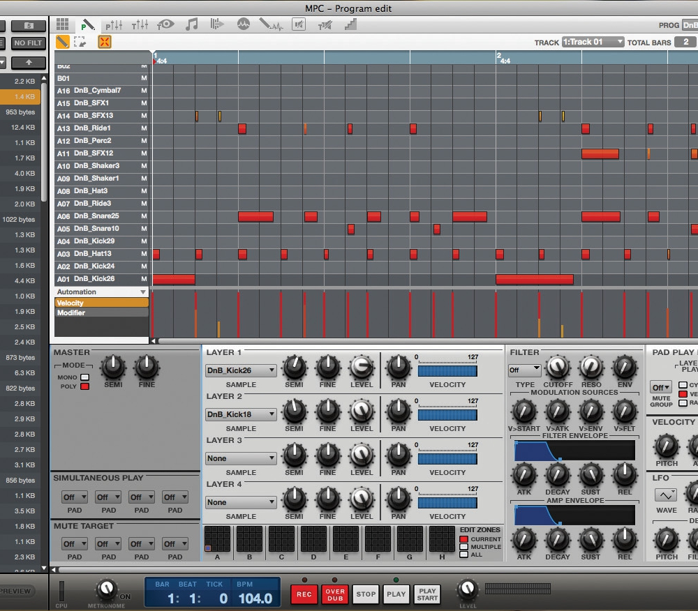 Программы для создания музыки Akai MPC Software