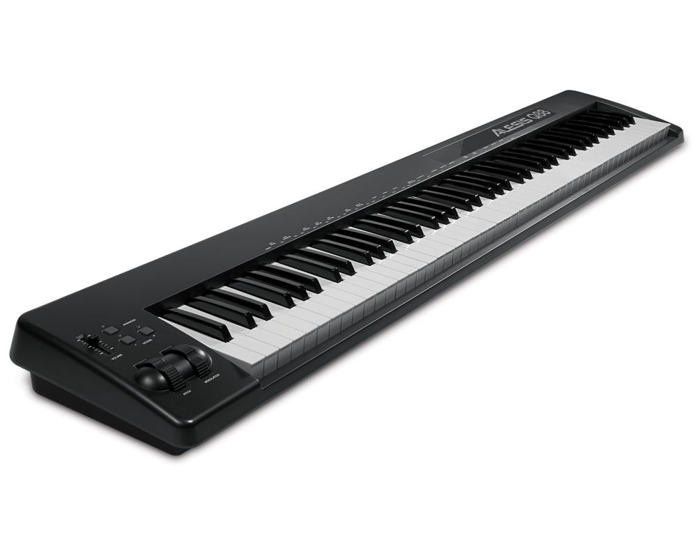 Midi-клавиатуры Alesis Q88