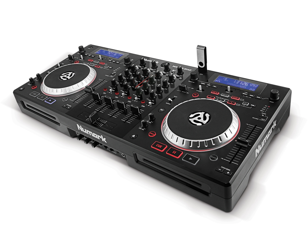 DJ-контроллеры Numark Mixdeck Quad