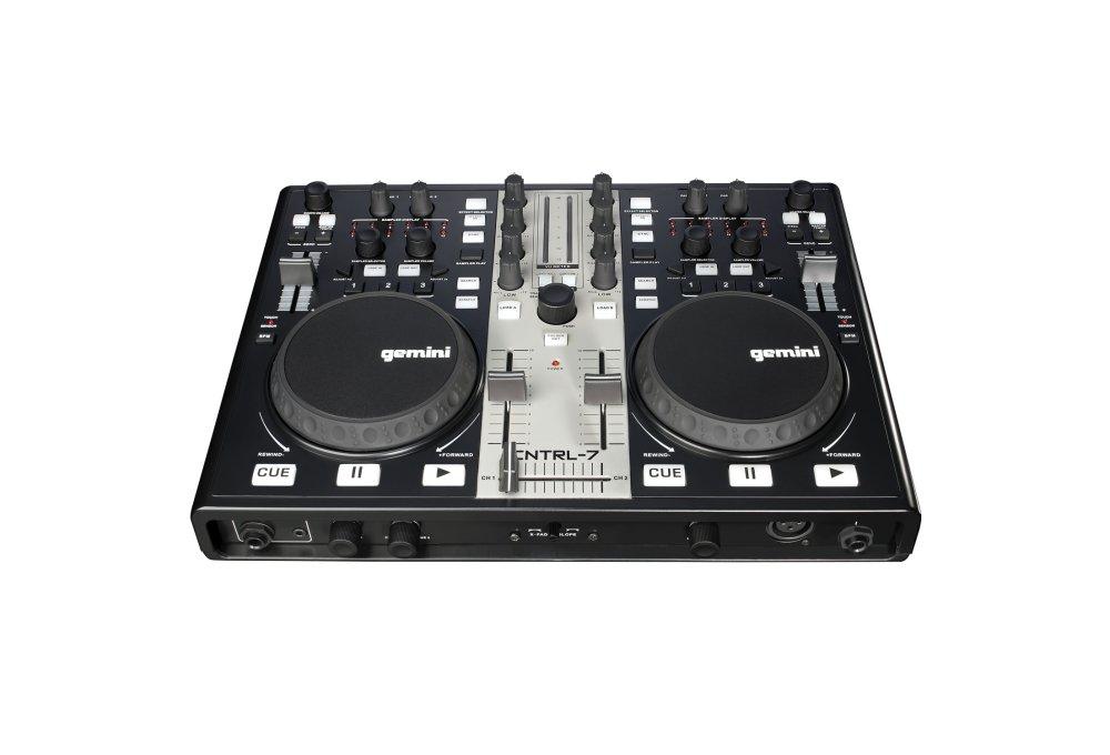 DJ-контроллеры Gemini CNTRL-7
