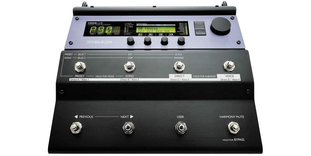 Процессоры эффектов TC-Helicon VoiceLive