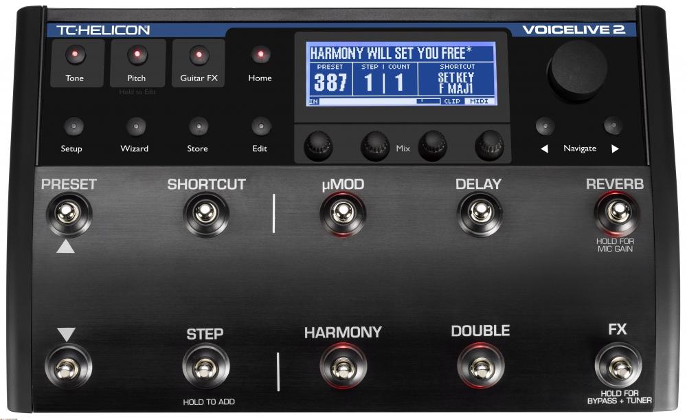 Процессоры эффектов TC-Helicon Voice Live 2