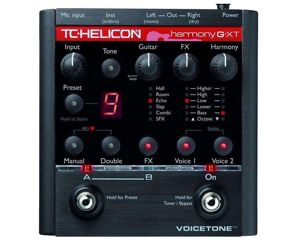 Процессоры эффектов TC-Helicon VoiceTone Harmony-G XT
