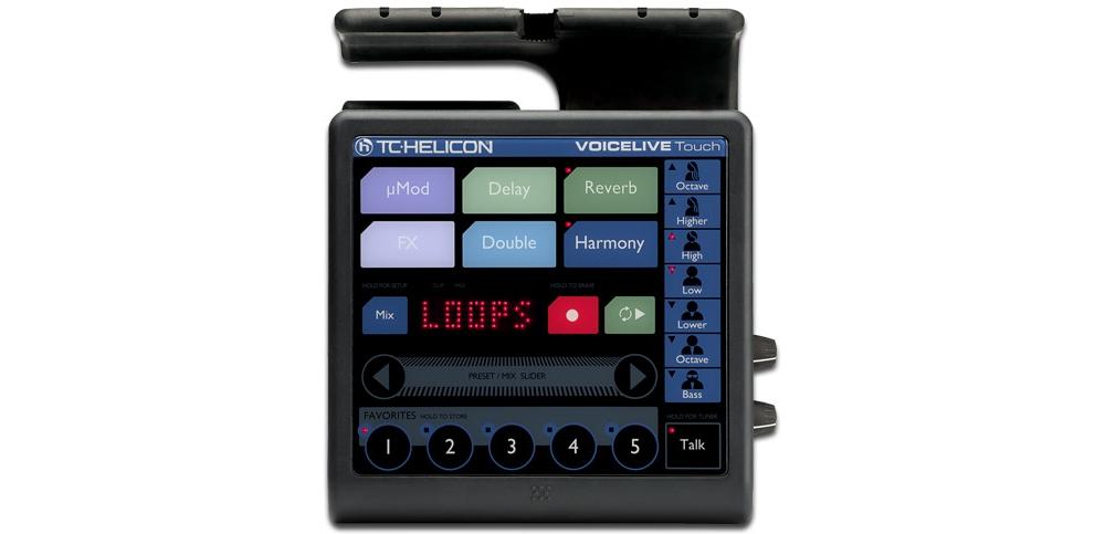 Процессоры эффектов TC-Helicon Voice Live Touch