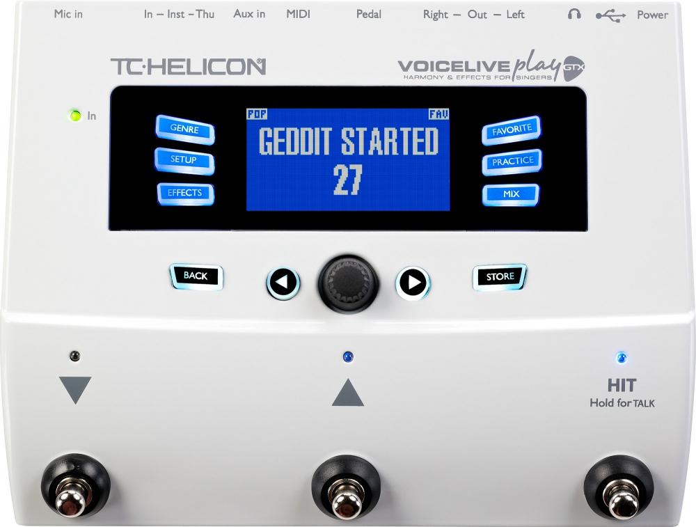 Процессоры эффектов TC-Helicon VoiceLive Play GTX