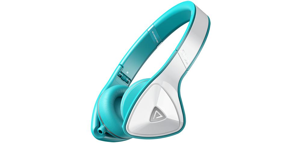 Наушники для плеера Monster DNA On Ear White / Teal