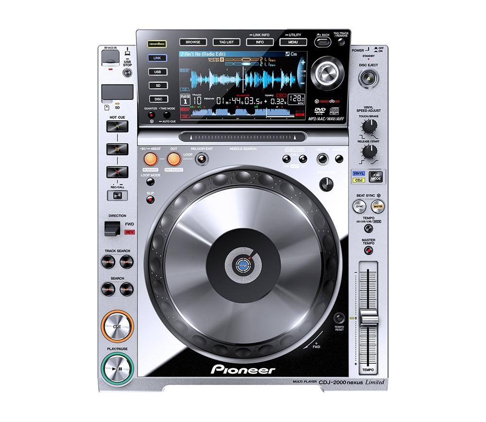 CD/USB-проигрыватели Pioneer CDJ-2000nexus Platinum Edition