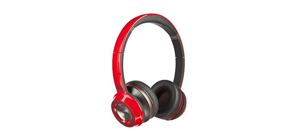 Наушники для плеера Monster NCredible NTune On-Ear Headphones Red