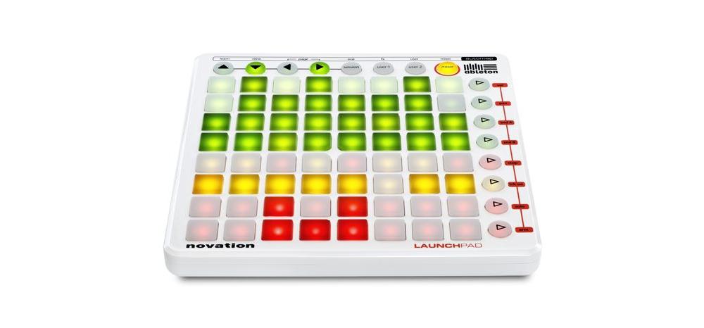 DJ-контроллеры Novation LaunchPad White