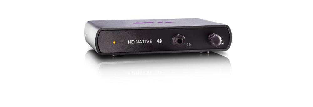 Звуковые карты Avid Thunderbolt HD | Native Interface