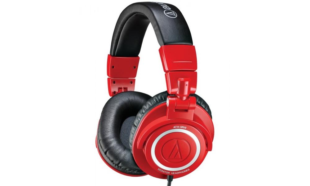 Студийные наушники Audio-Technica ATH-M50RD