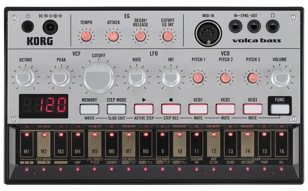 Синтезаторы и рабочие станции Korg Volca bass