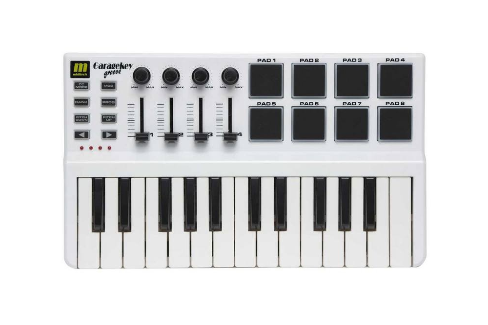 Midi-клавиатуры Miditech GARAGEKEY GROOVE