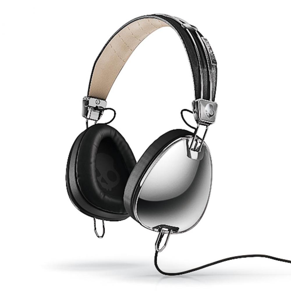 Наушники для аудиофилов Skullcandy AVIATOR Chrome/Black W/MIC3