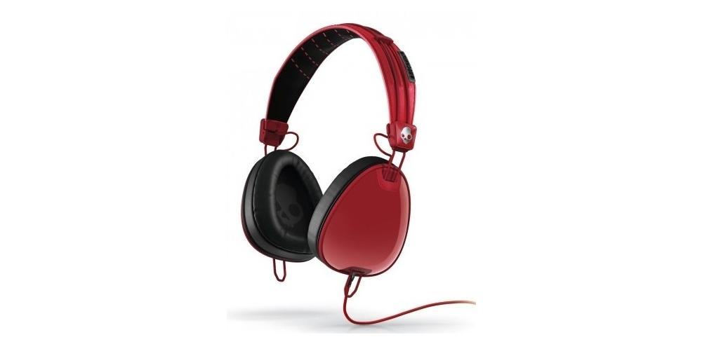 Наушники для аудиофилов Skullcandy AVIATOR Red/Black W/MIC3
