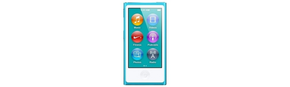 iPod nano Apple iPod Nano 7Gen 16GB (MD477) Blue