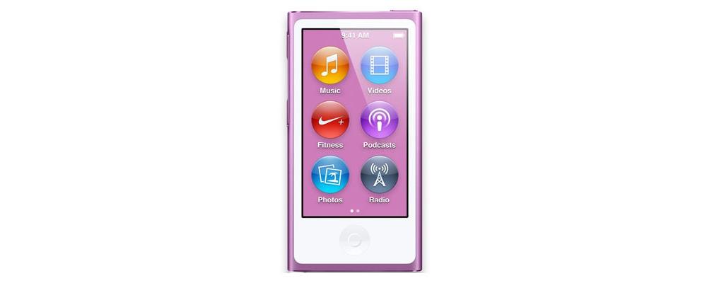 iPod nano Apple iPod Nano 7Gen 16GB (MD479) Purple