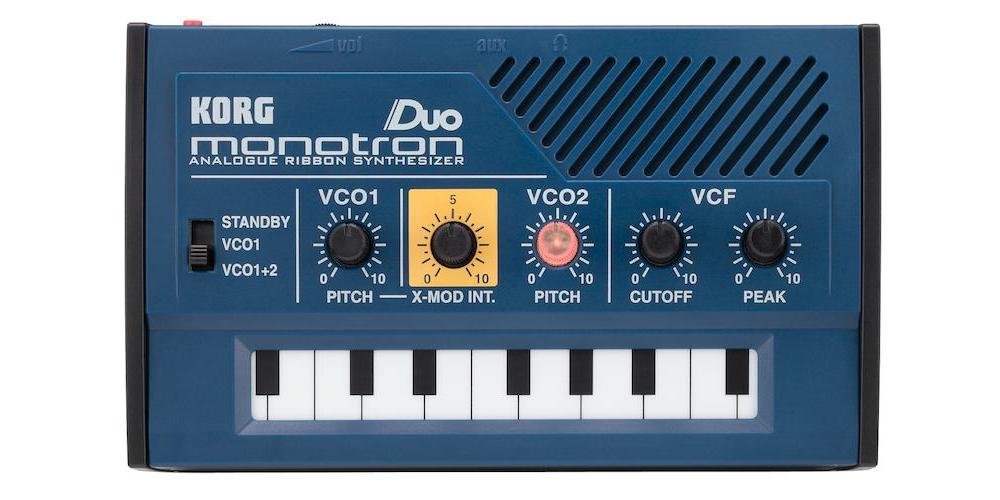 Синтезаторы и рабочие станции Korg MONOTRON DUO