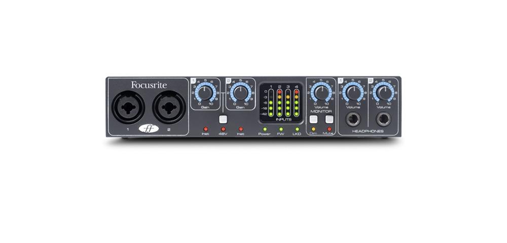 Звуковые карты Focusrite SAFFIRE PRO 24 DSP
