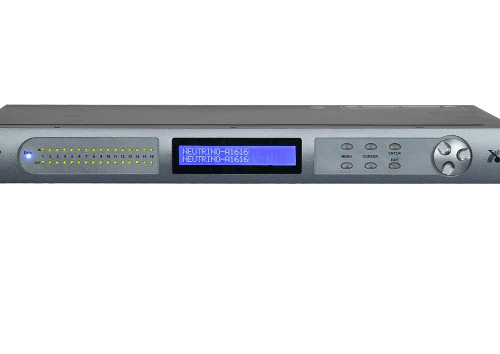 Процессоры эффектов Xilica A1616-D