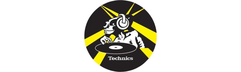 Слипматы Technics 2-PACK SLIP PAD Yellow
