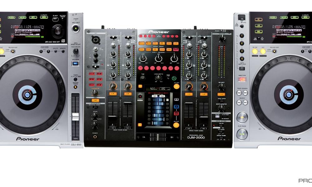DJ-комплекты Pioneer CDJ-850 (2шт) + Pioneer DJM-2000
