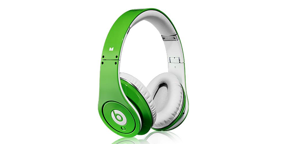 Наушники для плеера Beats by Dr. Dre Studio green