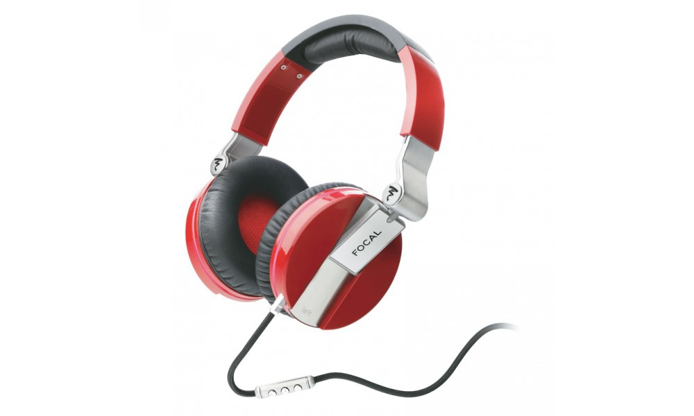 Наушники для аудиофилов Focal Spirit One Red