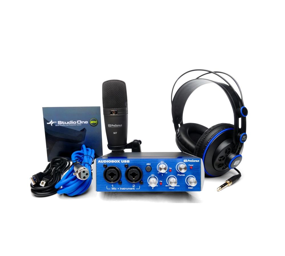 Звуковые карты Presonus AudioBox STUDIO