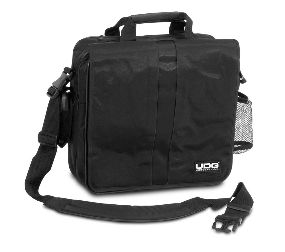 Сумки для пластинок UDG Ultimate CourierBag DeLuxe Black/Orange